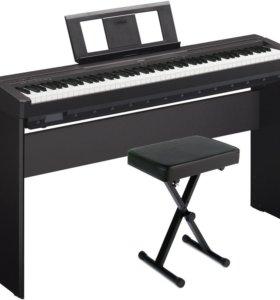 Цифровое пианино Yamaha P-45B Новое с Гарантией