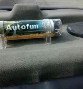 Продам сабвуфер autofun усилитель blaupunkt