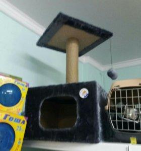 когтеточка/домик для кошек