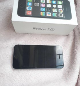 iPhone 5s 32 GB, цвет Space grey