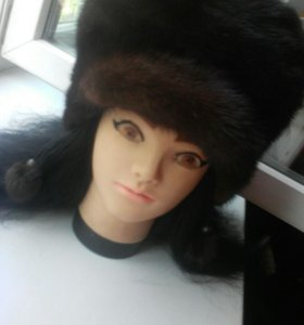 Продам шапку зимнюю норковую( женскую)