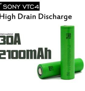 высокотоковый аккумулятор 18650 Sony VTC4