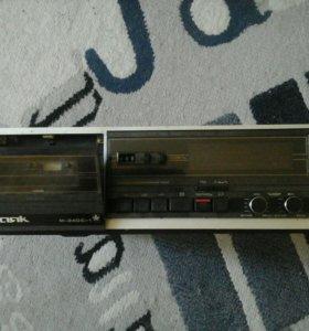 Стереомагнитофон касетный Маяк М-240с-1