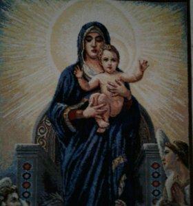 Ковер с изображением Божьей Матери
