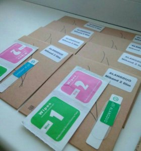 защитные пленки для фитнес часов MiBand 2