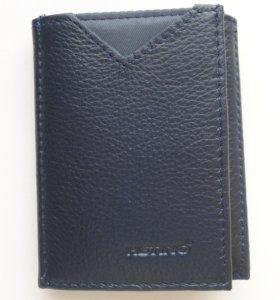Портмоне кошелек бумажник натуральная кожа новый