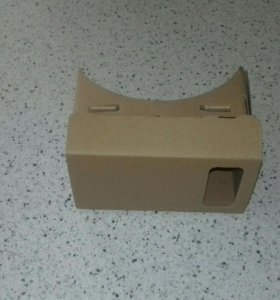 Картонные очки виртуальной реальности
