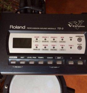 Ударная установка, модуль Roland TD3