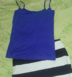 Топ юбка шорты платье