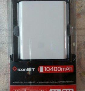 Внешний аккумулятор iconBit FTB10400DX