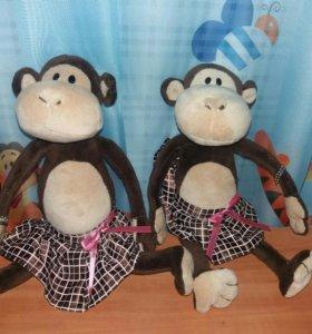 Мягкая игрушка обезьянка новая