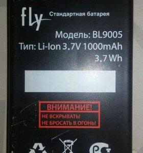 Батарея на fly