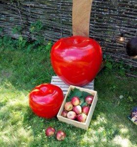 Фигура яблоко объемный декор