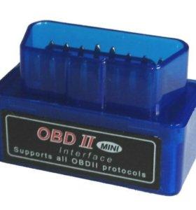 Диагностический автосканер OBDll ELM327 Bluetooth