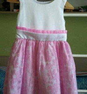 Нарядное платье для девочки 122-128