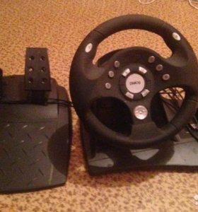 Руль Dialog GW-11VR Rally-Sport