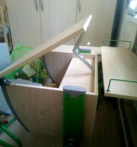 Стол и стул ученический трансформер