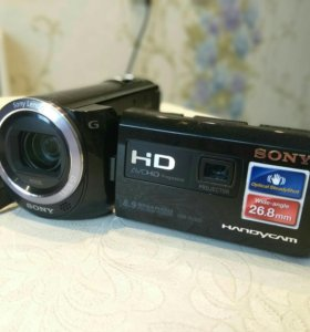 Видеокамера с проектором.