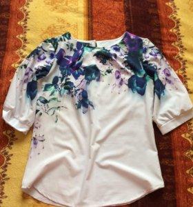 Блузка б/у, размер 44