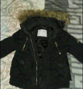 Курточка детская демисезон-тёплая зима