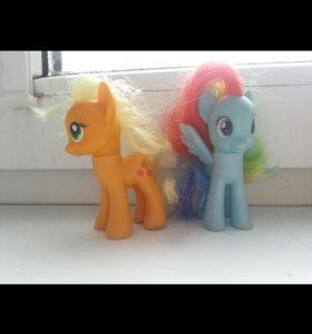 Пони Эплл И радуга