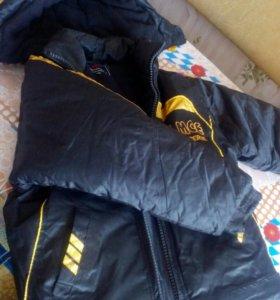 Куртка для мальчика тёплая
