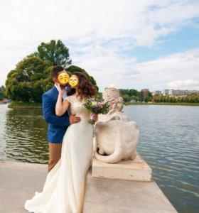 Потрясающее свадебное платье♥️