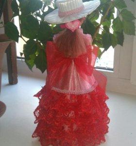 Канзаши шкатулка куколка
