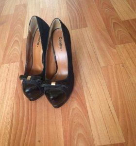 Туфли чёрные 36р.