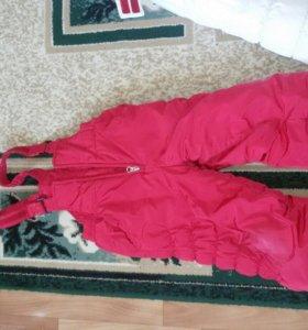 Куртка и комбинезон. Зима