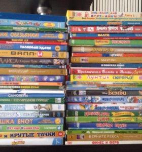 DVD диски( мультфильмы)