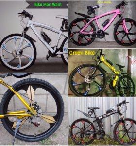 Велосипеды BMW, GreenBike, FatBike