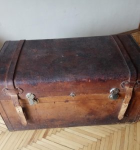 Сундук царский каретный 19 век Мюллер