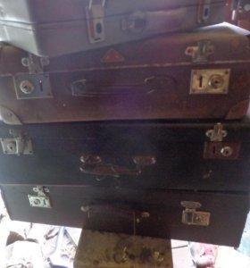 чемоданы раритет