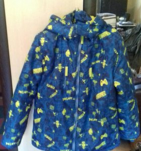 Куртка на мальчика.Холофайбер.