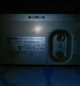 Видеомагнитофон, Panasonik ,NV- MV -2б/ у.ц1700 р.