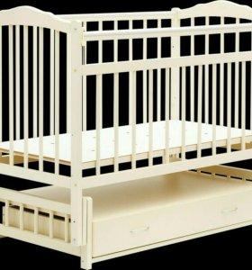 Детская кроватка-маятник Bambini