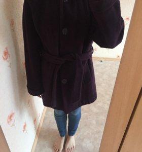 Пальто с подкладом