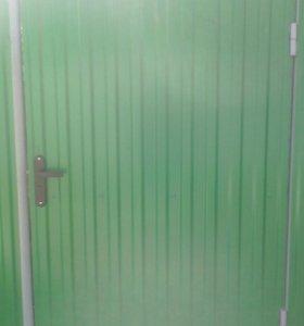 Заборы и ворота а также обшивка домов,бань