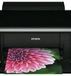 Фотопринтер Epson Stylus Photo T50
