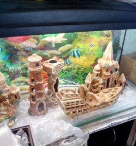 Новый аквариум 170 литров и другие