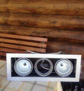светильники croner швеция двух трёх модульные