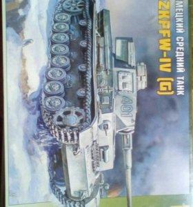 Немецкий средний танк PZKPFW-IV [G] (торг)