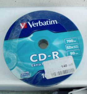 CD диски новые