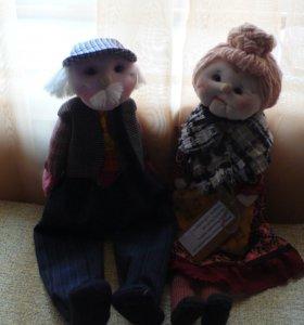 Куклы дедушка и бабушка