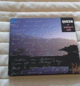 фирменный cd-single - Queen - A winters tale