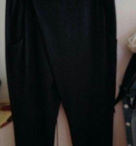 Стильные брюки с запахом