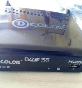 Цифровая DVB-T2 приставка
