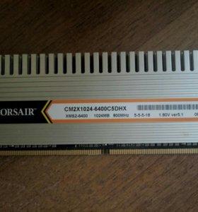 Оперативная память Corsair DDR2 1Гб