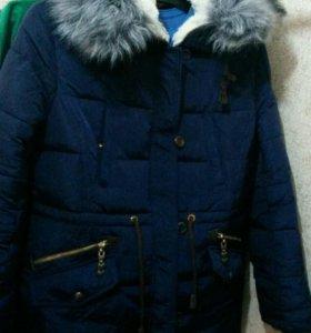 Куртка-парка зимняя 52-54
